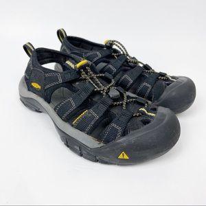 Keen Newport H2 Sandals Black Sz 6